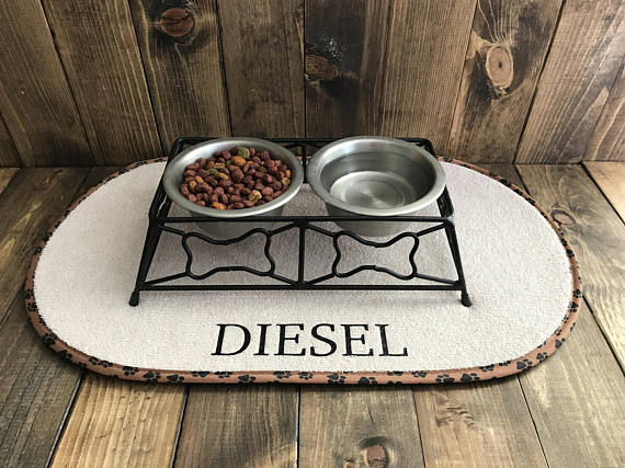 Customizable Pet Mat for Christmas